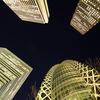 ビルの谷間 Shinjuku