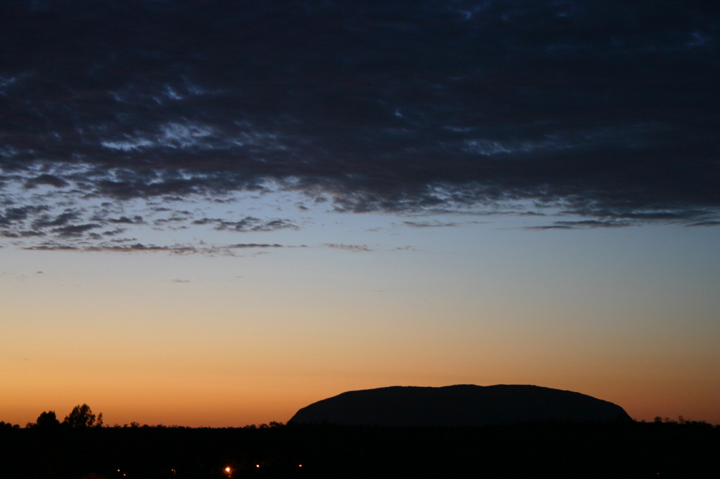 Sunset at Uluru2