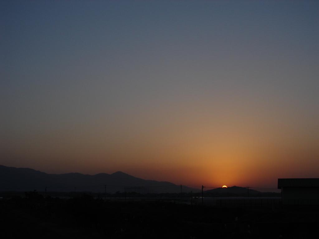 沈み行く太陽(DSC01382)