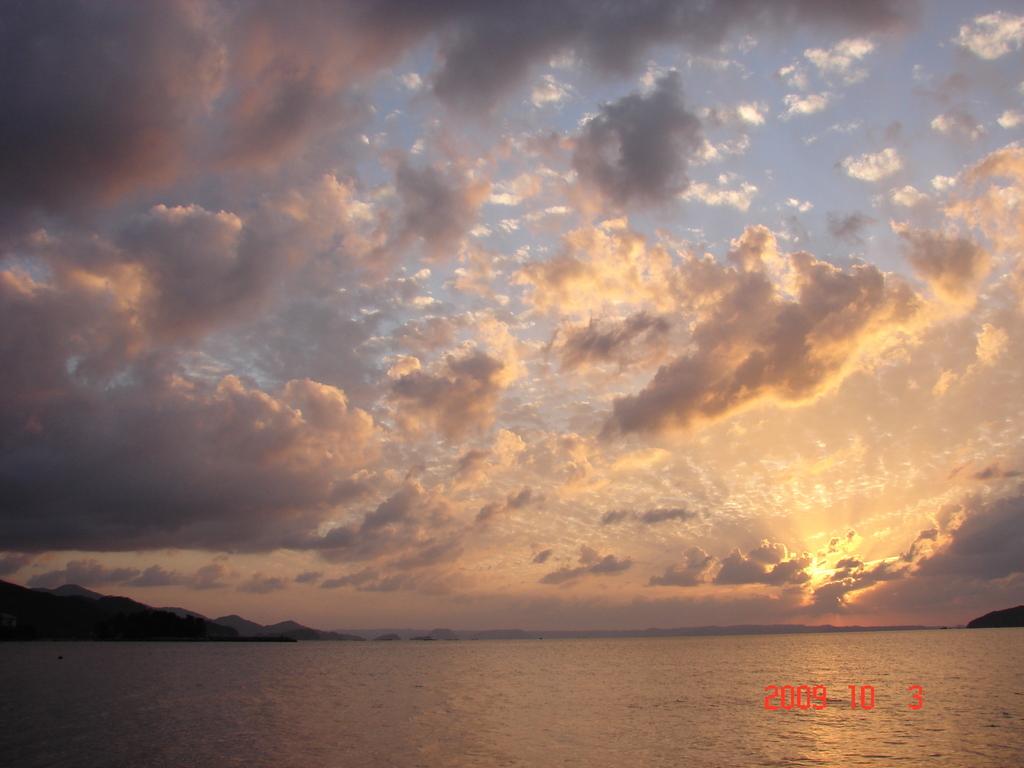 夕陽の隙間(DSC04455)