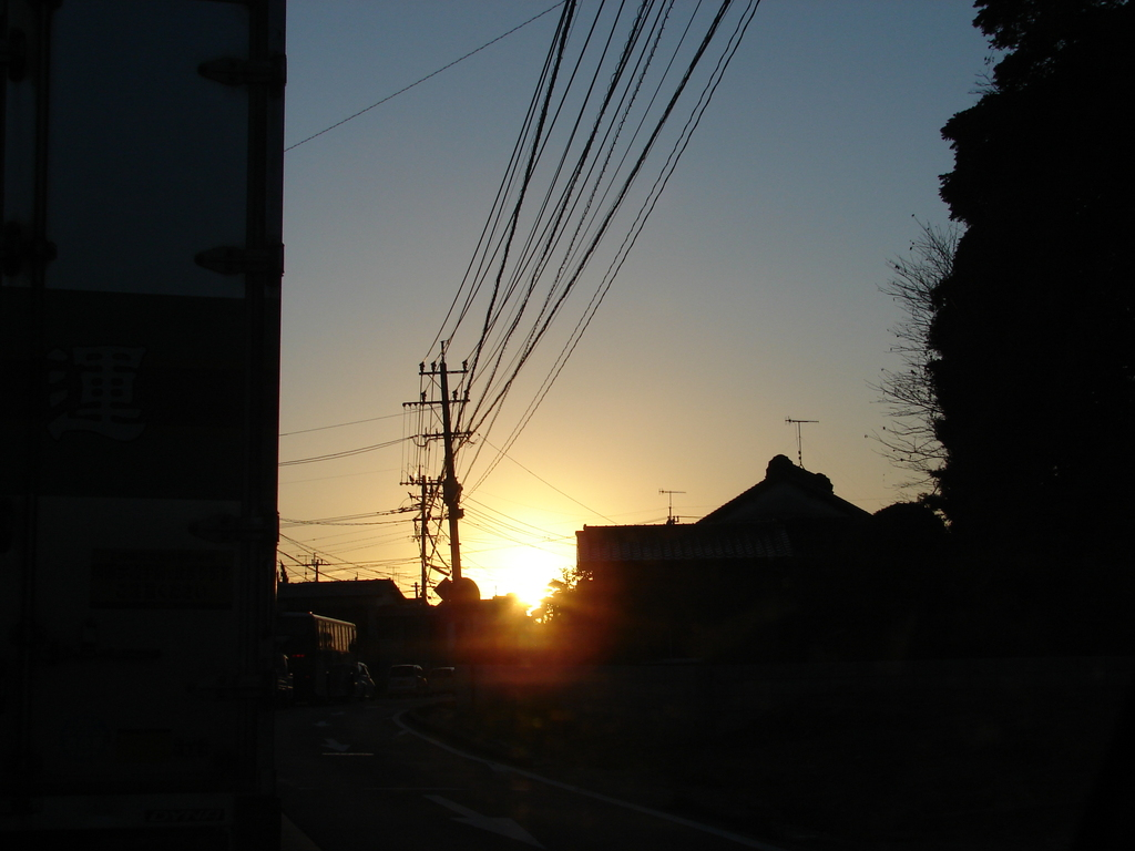 夕刻のシーン(DSC00166)