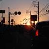 街頭の夕暮れ(DSC00167)