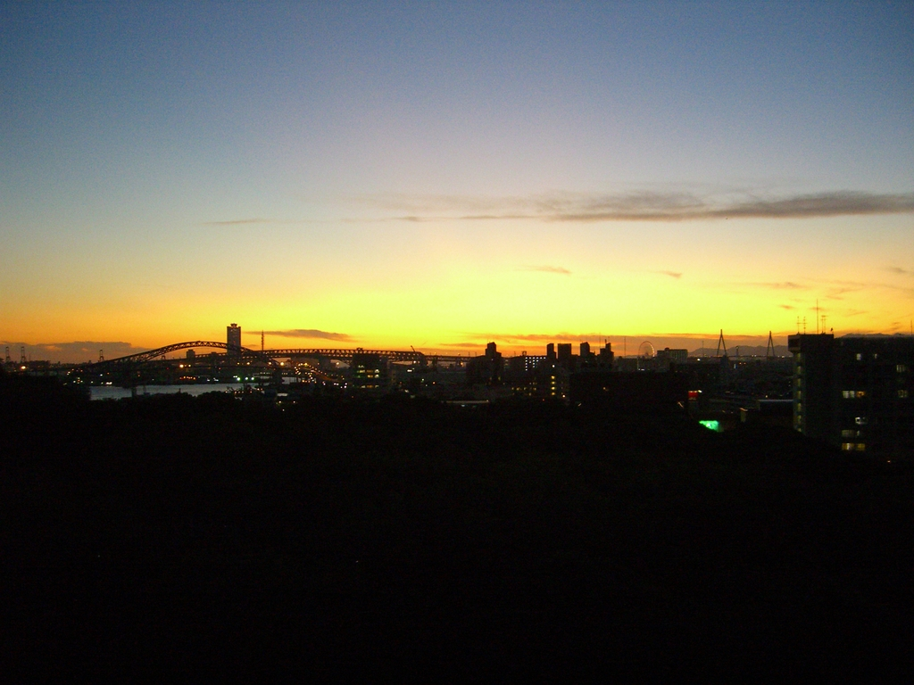 大阪の夕焼け1