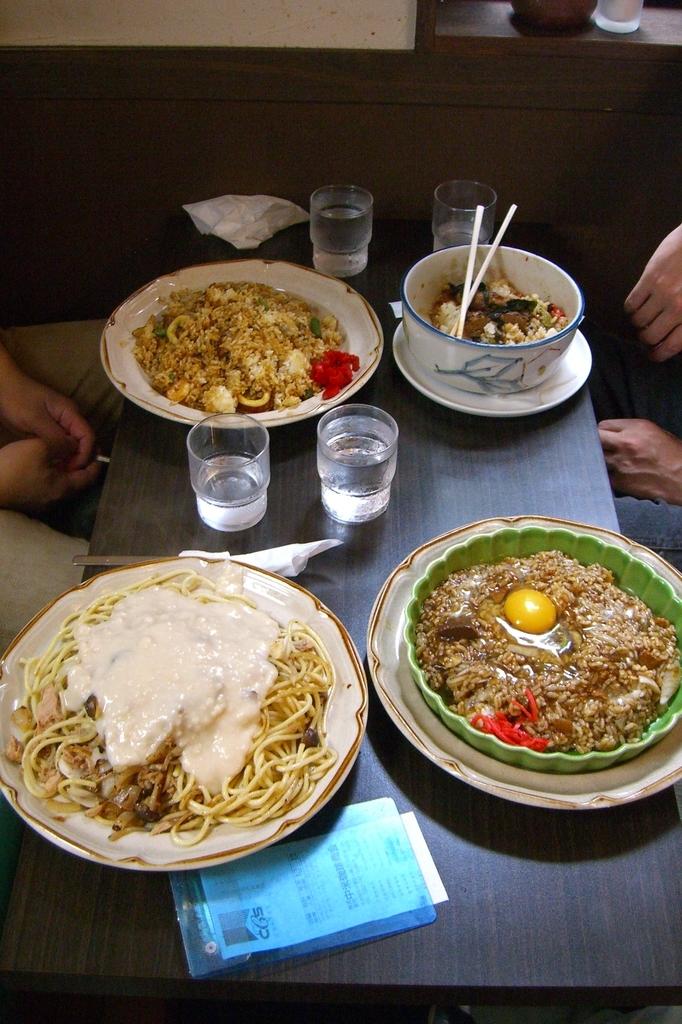 名古屋の喫茶店マウンテンの料理