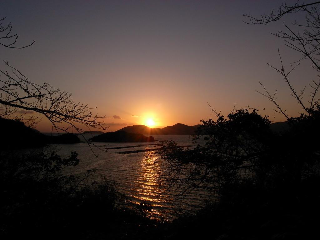 笠戸島(山口県下松市)にて