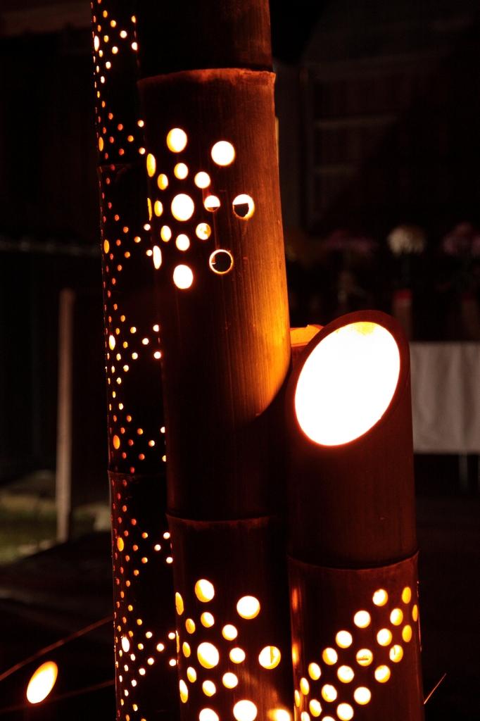 竹の灯籠5