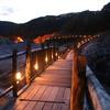 夕刻の地獄谷