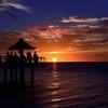 南島の夕日