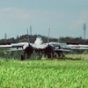 F-14 後面ビュー(Taxing)