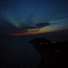 日没の伊良湖