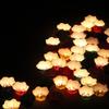 ベトナム_ホイアン日本祭りの灯篭流し