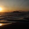 夕焼けの七里ヶ浜