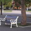 山下公園のベンチ