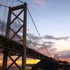 夜明けの関門橋