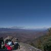 瑞牆山頂上からの眺め