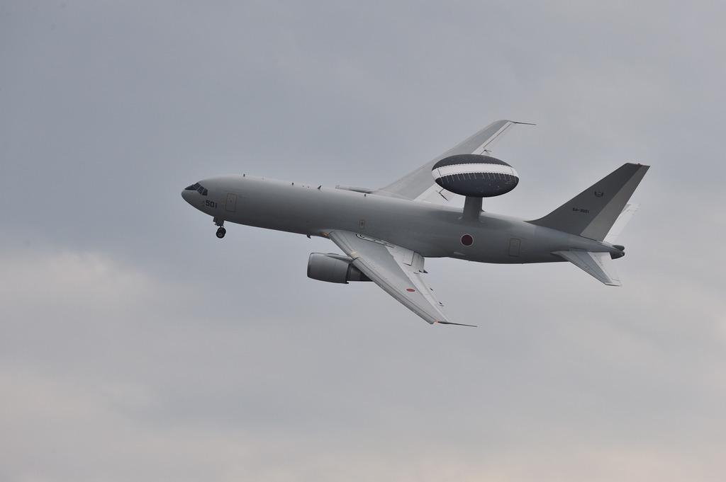 AWACS E767@浜松