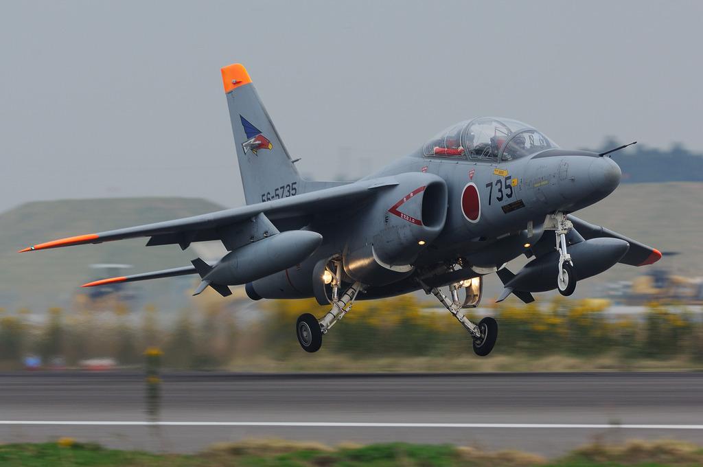 T-4練習機@百里基地
