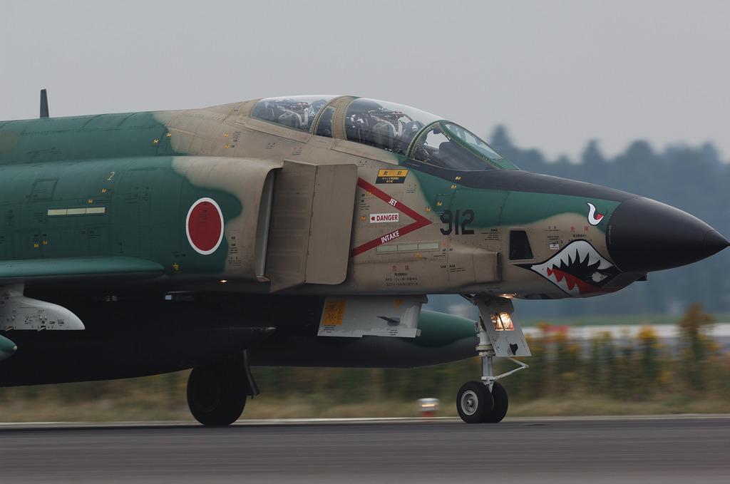 501飛行隊RF-4Eシャークマウス@百里