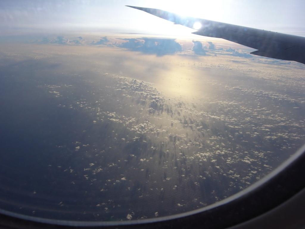 10000mの空