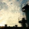 空と雲とそれから工場