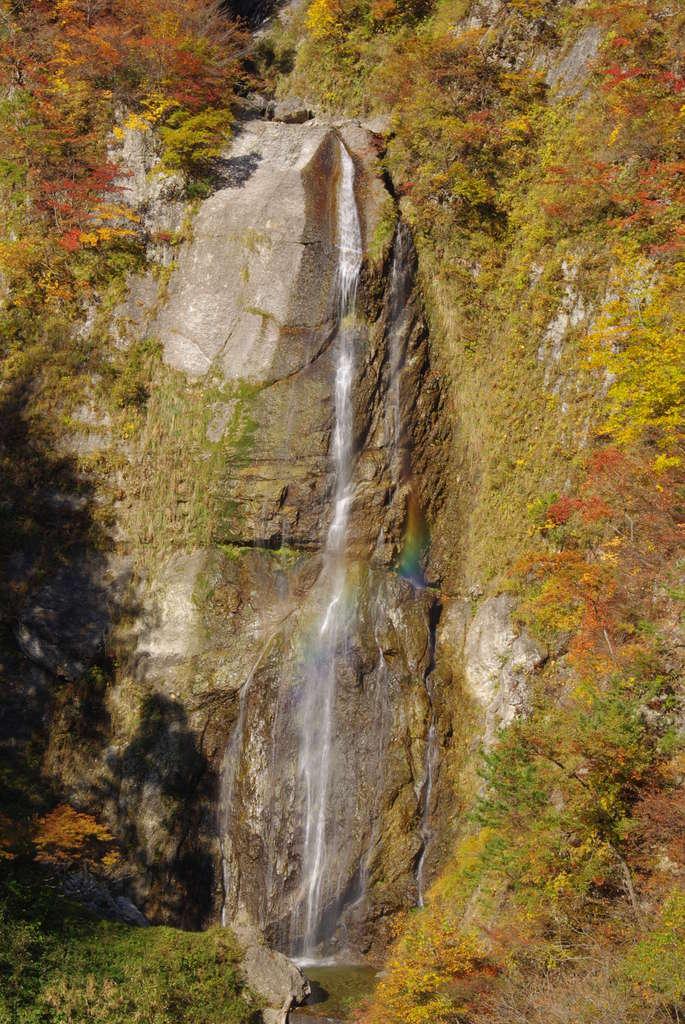 しりたか滝の紅葉