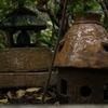 お庭に小さな家発見