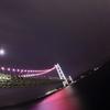 明石海峡大橋×魚眼