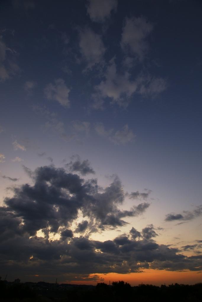 空の広さを知る
