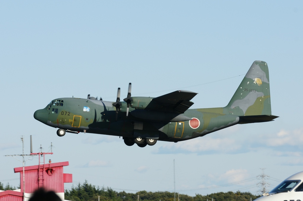 C130帰投