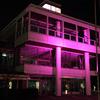 ピンクの建物