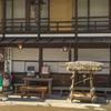 木曽奈良井宿にて2