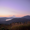 峠からの富士