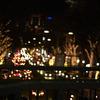 原宿駅の歩道橋の上から・・・