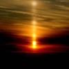 くし団子の太陽柱