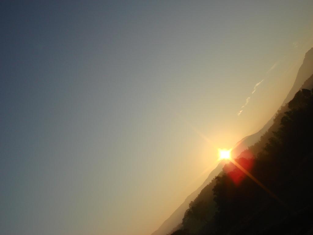 日の出 in 阿蘇