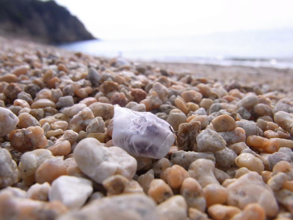 直島:礫海岸