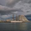海王丸とオリエンタルホテル