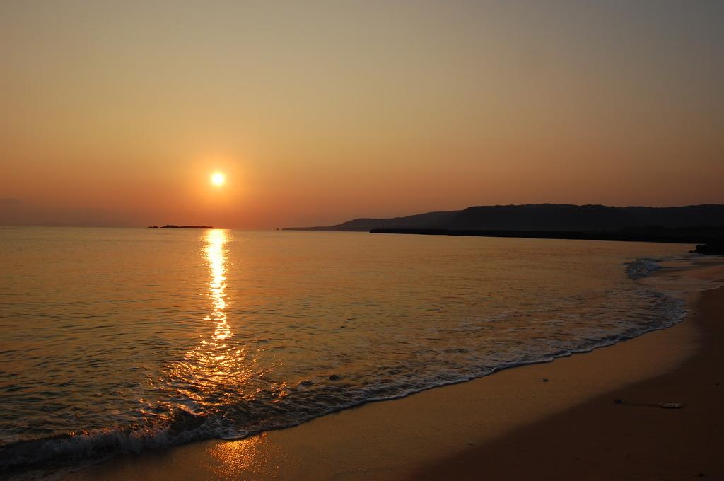 西表島の朝日