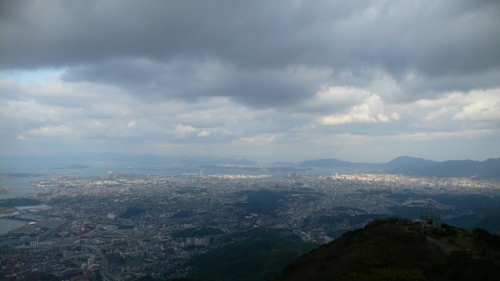 皿倉山山頂より