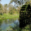 安曇野 緑の水車