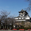 冬の犬山城1