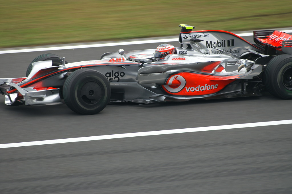 F1 マクラーレン・メルセデス