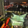 神戸ポートタワー5階展望室からの夜景06