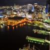 神戸ポートタワー5階展望室からの夜景03