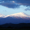 初冬の鳥海山