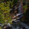 111007八幡平森の大橋 滝と渓流