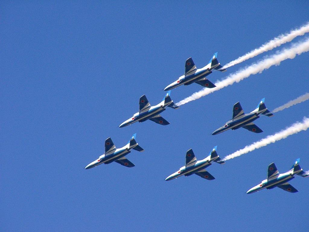 入間航空祭 T-4 ブルーインパルス