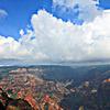 ワイメア渓谷と空
