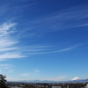 なびく雲 そして 富士
