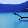支笏湖で龍を見た